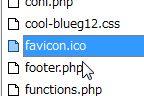 賢威6.0カスタマイズ記録『ファビコンを設置してみる』