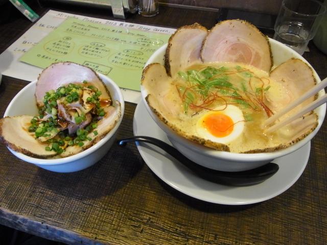 3/28=『みつ葉の日』だけ食べられる超限定味噌ラーメン&つけ麺を食べてきた