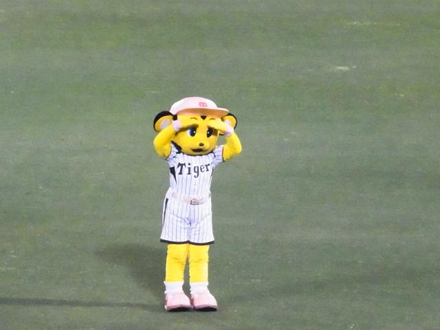 阪神vs楽天の試合を見るために甲子園球場に行った