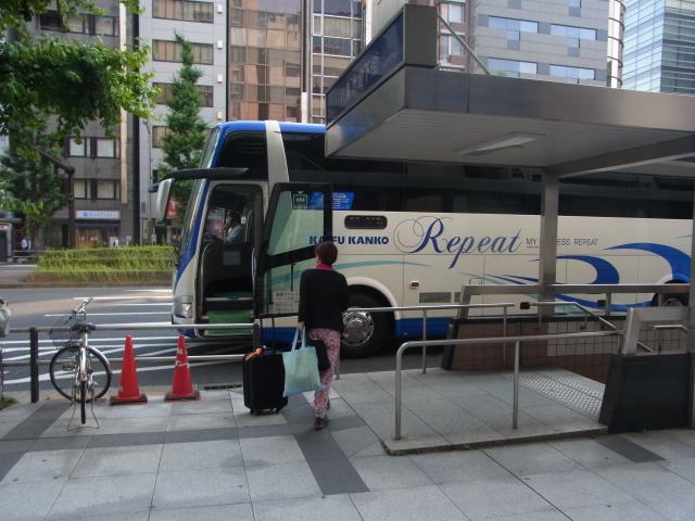 頑張って海部観光の夜行バスで大阪から東京に行ってきた