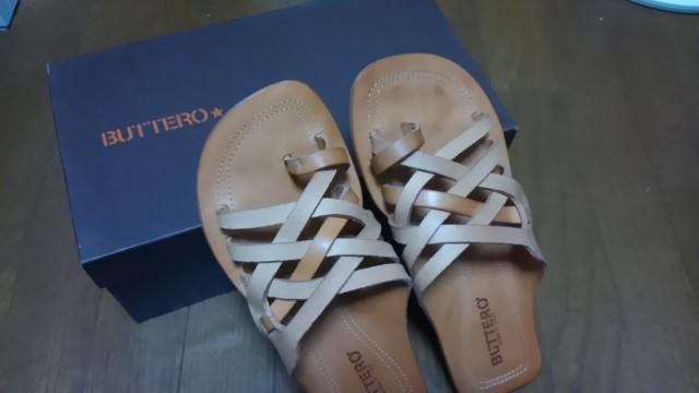 【セール】イタリアの靴ブランド『BUTTERO』のサンダルを買ったよ