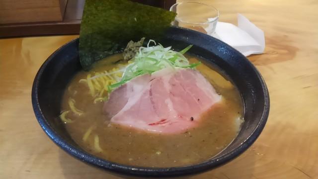 奈良生駒市の濃とんこつラーメン『一望(いちぼう)』へ【煮干濃とんこつ】
