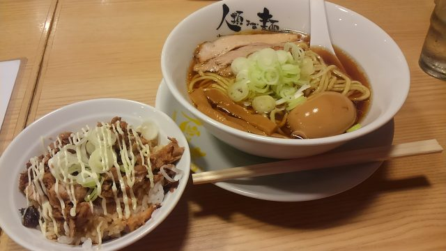阪急南方駅-大阪を代表するラーメン『人類みな麺類』へ行ってきた