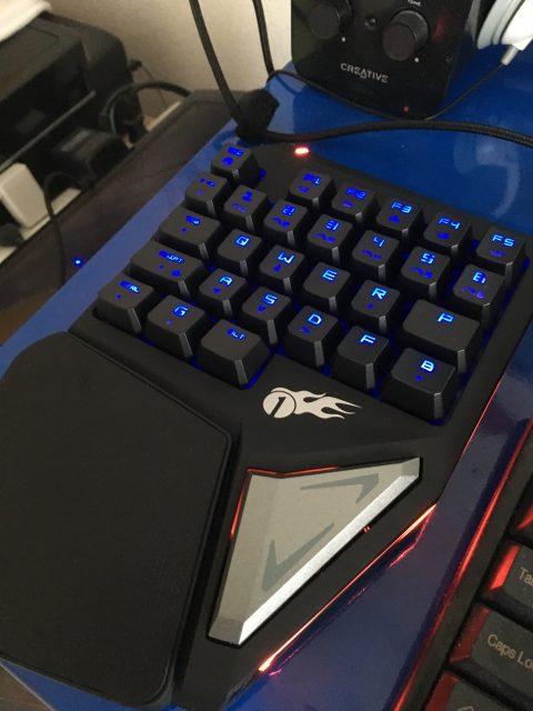 1byoneの左手用ゲーミングキーボードを導入【ゲーム+デスクワーク】
