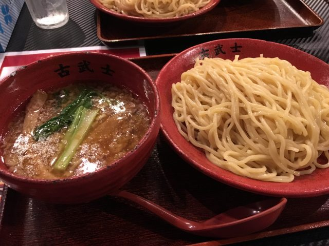 つけ麺古武士-新宿で旨味たっぷりのスープを啜る【画像+感想】