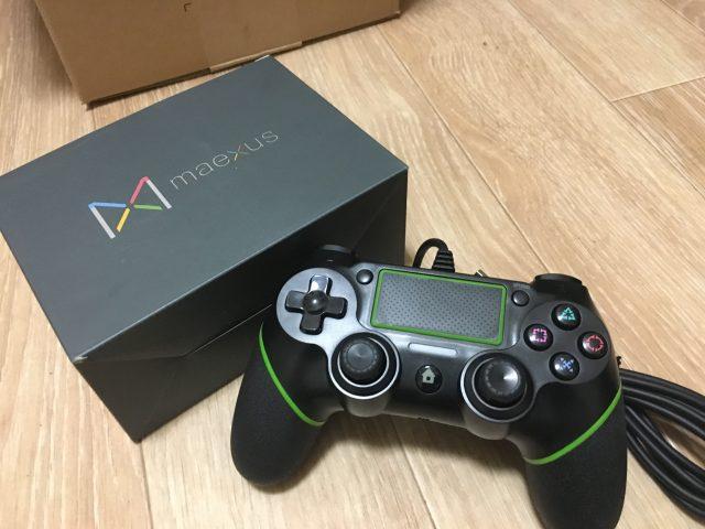 PS4『Maexus』コントローラーが故障したので販売元に交換してもらった